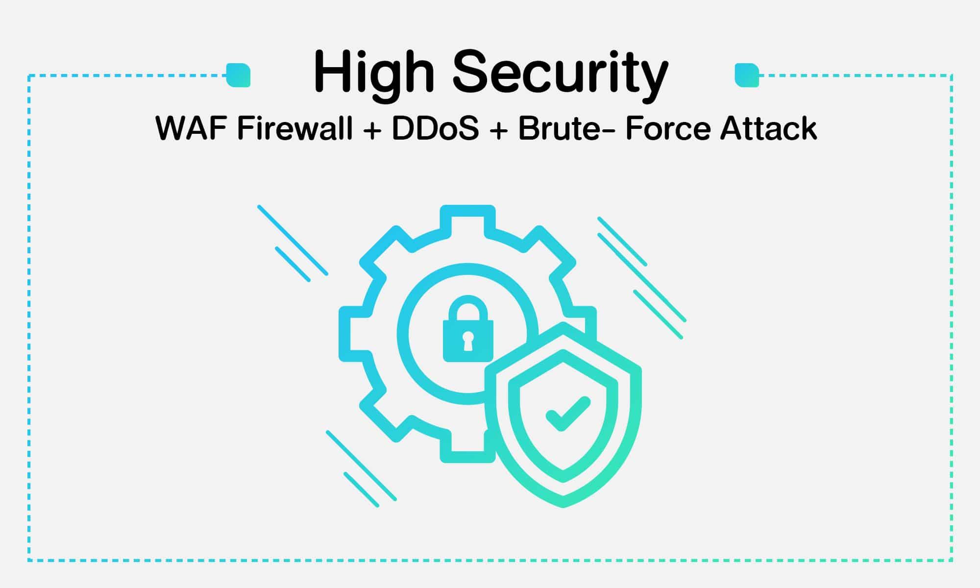 เสริมความปลอดภัยด้วย WordPress ด้วย WAF Firewall + DDoS + Brute-Force Attack ปกป้องเว็บคุณแบบ Realtime